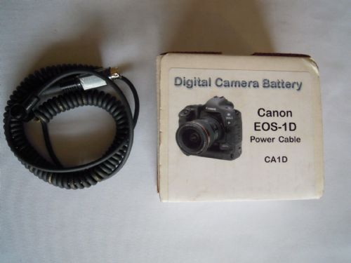CANON EOS-1D POWER CABLE CA1D FROM DIGITAL CAMERA BATTERY